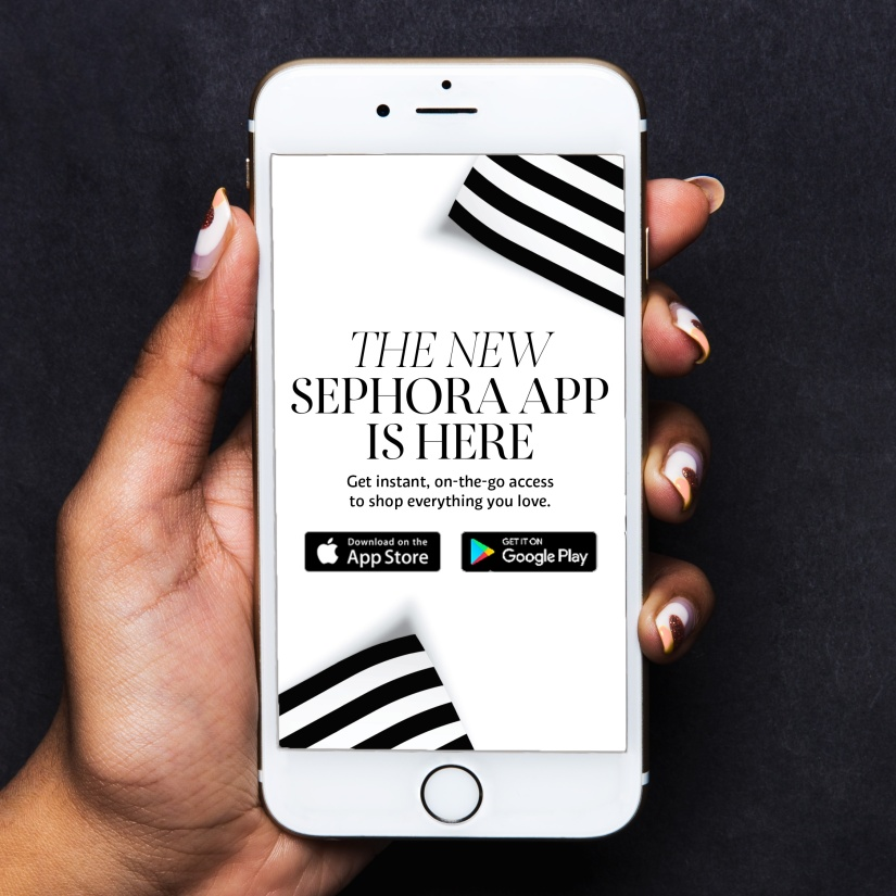 BEAUTY BUZZ: Shop Sephora Anytime, Anywhere With The New MobileApp