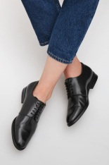 Lace-Up Leather Shoes, COS | £115
