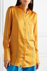 Satin-Twill Shirt, Victoria Beckham   £285